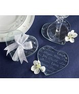Good Wishes Heart Glass Coasters [SET OF 12] - $38.79