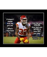 Inspirational Tyrann Mathieu Football Motivational 'Play BIG' Quote Poster - $19.99+