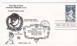 BABE RUTH #2046 CHICAGO, IL JULY 6, 1983 ASHLEY CACHET-D4 #546 OF 1000  - ₹217.21 INR