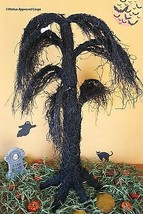 Pottery Barn Lit Weeping Willow Creepy (Large) Tree - Perfect For Twig Or Treat! - $149.95