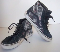 "Vans - ADULT OTW ""Game Over"" Black/Grey Skateboard Shoes M-5 /W-6.5 - $18.99"