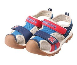 Baby Boy's Outdoor Casual Beach Sandal Shoes BLUE, Feet Length 14.2CM