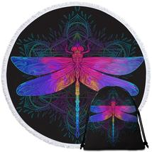 Indian Dragonfly Beach Towel - $12.32+