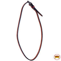 Hilason Throat Latch Replacement Strap Horse Headstall Harness Leather Mahogany - $14.80