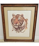Guy Coheleach Lithograph Siberian Hunter pencil signed Certificate Authe... - $200.00