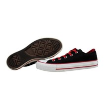 Converse Chuck Taylor Ox Black/Varsity Red 131810F Men's SZ 3 - $40.50