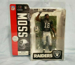 2006 LA Raiders Randy Moss NFL Series 13 Mcfarlane Figure - $11.30