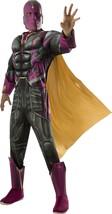 Vision Captain America Civil War Marvel Fancy Dress Up Halloween Adult Costume - $53.46
