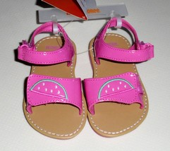 Gymboree Toddler Girls Watermelon Sandals Size 5 NWT - $15.99