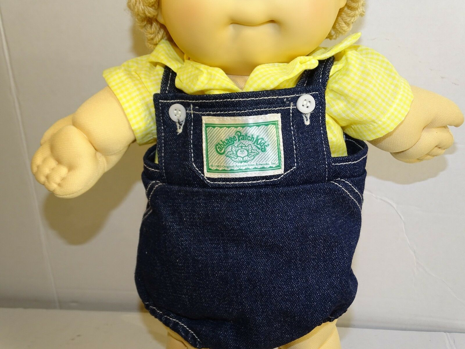Clip-Ons Vintage Cabbage Style BOYS w// Spiky Hair Taiwan 1980/'s 2 left
