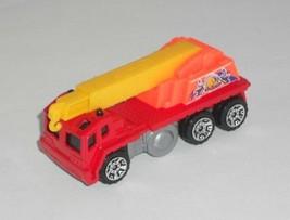 Matchbox HERO CITY 1 Loose Vehicle Rescue Crane Red & Orange - $2.50