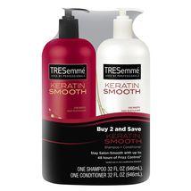 TRESemme Keratin Smooth Shampoo & Conditioner 32 fl. oz., 2 pk - $34.99
