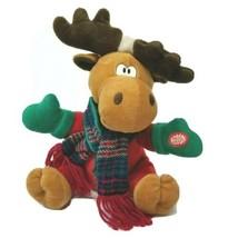 MTY International Plush Animated Singing Moose Plush Stuffed Animal VTG? - $22.76