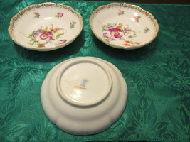 """S"" Germany Porcelain Saucers - 3 Saucers or Small Bowl - $12.99"