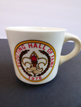 VTG BSA Boy Scouts of America Mug Cup Scouting Hall of Fame 1978 - $23.76