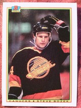 Hockey 1990 BOWMAN#64 Steve Bozek Canucks *04 - $0.99
