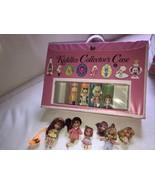 VINTAGE 1967 Mattel Liddle Kidddles Collectors Case &  1967 Sheila Skedd... - $79.19