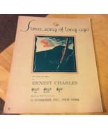 Vintage Sheet Music Sweet Song of Long Ago 1933 - $3.99