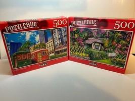 Puzzlebug 500 Piece Puzzles New Orleans Streetcars, Louisiana & English ... - $21.94