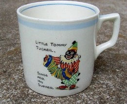Childs Clown Mug L'iL Tommy Tucker Sings For His Supper by Swinnerton OLD - $23.76