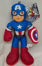 "Marvel Avengers Assemble Captian America 14"" Plush Stuffed Animal New - $19.80"