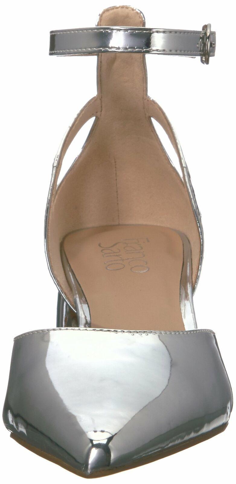 Franco Sarto Women's Caleigh Pump 6.5 Silver image 2