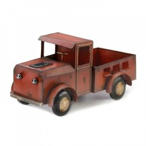 Red Truck Solar Light Planter - $84.18 CAD