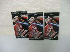 STAR WARS ORDER 66 pocketmodel tcg game packs set of 3, new/sealed - $14.99