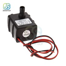 Ultra quiet DC 12V 4.2W 240L/H Flow Rate Waterproof Brushless Pump Mini ... - $10.20