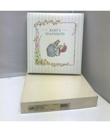 "1990 Vintage The Beatrix Potter Collection Baby's Snapshots Photo Album 9"" - $49.99"