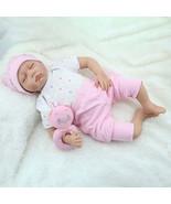 NPK 22inch Reborn Baby Doll Silicone Handmade Lifelike Baby Play House Toy - $184.49