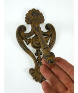 Fleur Fluer de Lys Lis DoorKnocker Cast Iron Rustic Gothic Vintage - $15.99
