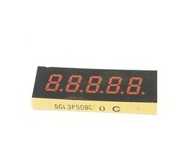 FANUC SGL3P508C DISPLY UNIT 5-DIGIT SGL3P508 image 1