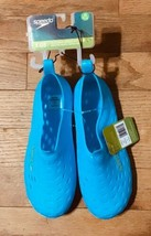 Boy's Speedo Jelly Rubber Water Shoes Blue  Size XL 11-12 NWT! - $11.88