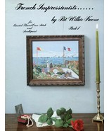 French Impressionists Book 1 Pat Wilkie Keene Cross Stitch Pattern Leaflet - $2.14