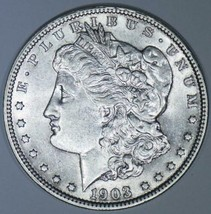 1903 Morgan Dollar; Choice AU-BU - $79.19