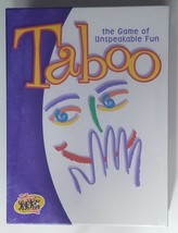 Taboo Game the Game of Unspeakable Fun Hasbro Hersch Factory Sealed 04015 - $17.53