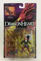 """Dragonheart Kara with Axe-Chopping Cart Kenner Vintage 1995 Action Figure 3.5"""" - $14.80"""