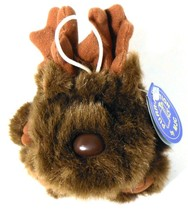 Purrfection MJC Molly Moose Plush Cushy Critter 1997 Bean Bag Stuffed To... - $12.34