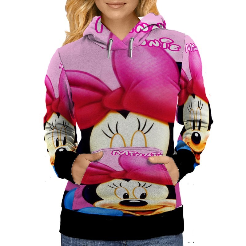 Minnie mouse   womens hoodie