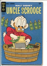 UNCLE SCROOGE #72 1967-GOLD KEY-WALT DISNEY-CARL BARKS ART-vg - $40.35