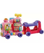 VTech Sit-to-Stand Ultimate Alphabet Train Discontinued PINK Model -NEW ... - $94.05