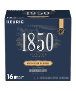 Folgers 1850 Pioneer Blend Coffee Keurig 16 to 64 K cups Pick Any Size F... - $21.99+
