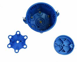 A-Team Performance 6-Cylinder Male Pro Series Distributor Cap & Rotor Kit BLUE image 3