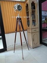Nauticalmart Hollywood Studio Floor Lamp - Hand Made in Chrome with Walnut Polis - $197.01