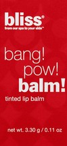 bliss Bang Pow Tinted Lip Balm get barried away (Lot of 2) - $19.80