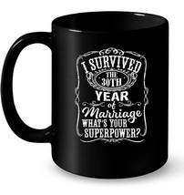 Anniversary Gift 30th 30 years Wedding Marriage Gift Coffee Mug - $13.99+