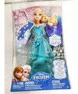 Elsa Frozen 11.5 inch Singing Doll Frozen Sings Let It Go 4 Languages - $35.00