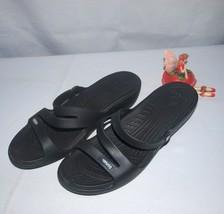 Croc's Patricia Sandals Black Size 11W Women's - $19.75