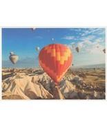 Giant Hot Air Airship With Digital Break Up Balloon Design Postcard - $5.99